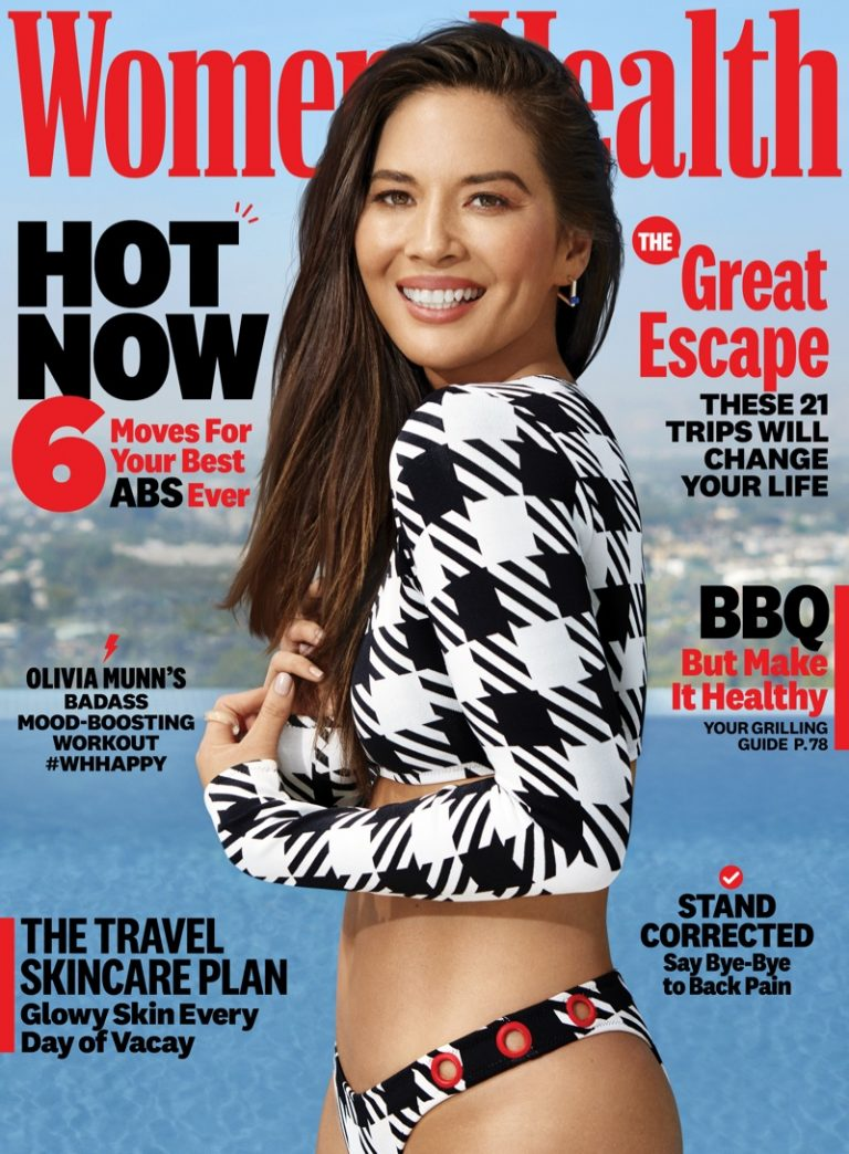 Olivia Munn for Women's Health July-August 2019
