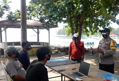 Kapolsek Gencar Kunjungi Tokoh Masyarakat Di Kepulauan Seribu