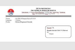 Download File Kop Surat di Amplop Tinggal Print