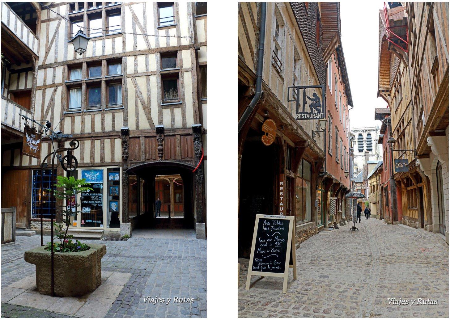Calles de Troyes