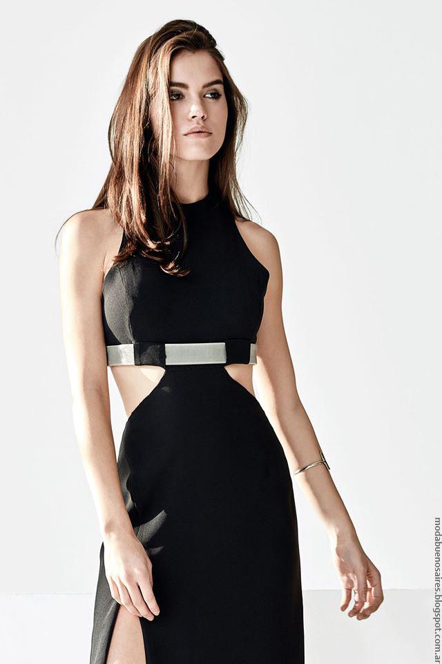 Vestidos invierno 2016 Naima moda ropa de mujer.