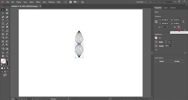 Line Artwork in Adobe Illustrator