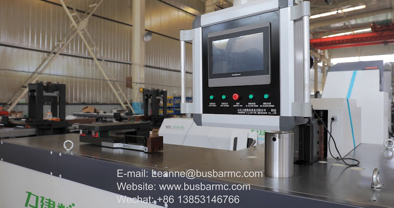 copper busbar bending machine