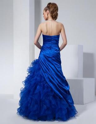 imagenes de Vestidos de 15 Años Azules