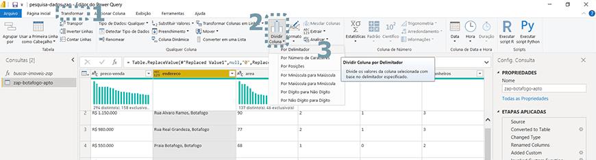 Guia passo a passo tratamento de dados com Power bi - figura 13
