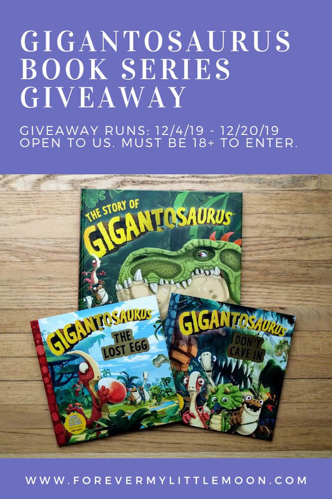 Gigantosaurus Book Series Giveaway