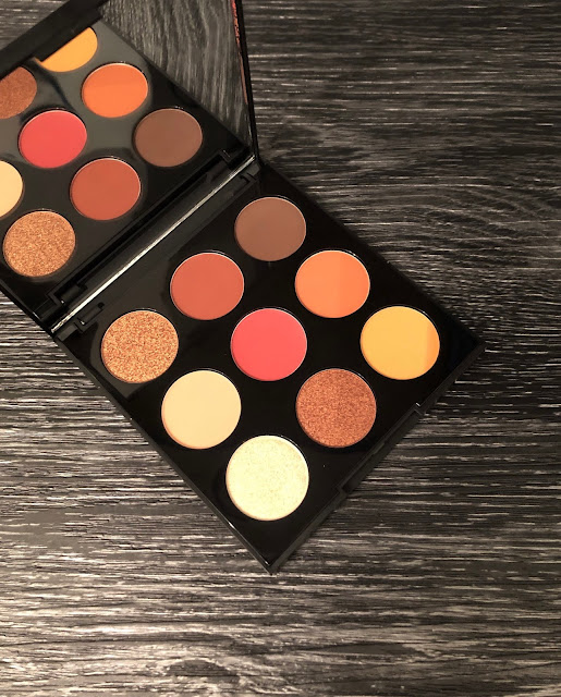 Morphe 9D Painted Desert Artistry Eyeshadow Palette (Review and Swatches)