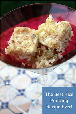 quick and easy rice pudding with cinnamon and raisins recipe