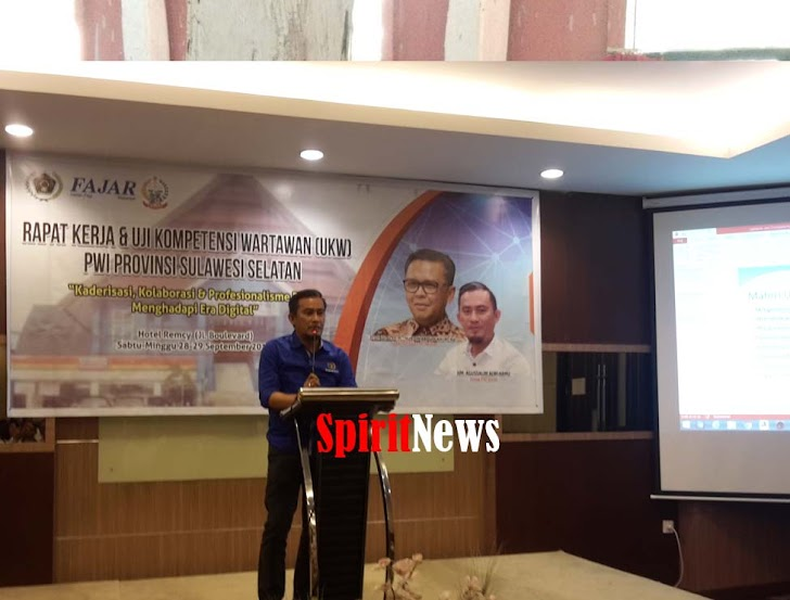 Ketua PWI Sulsel, Jagalah Kebersmaan Dalam Berorganisasi
