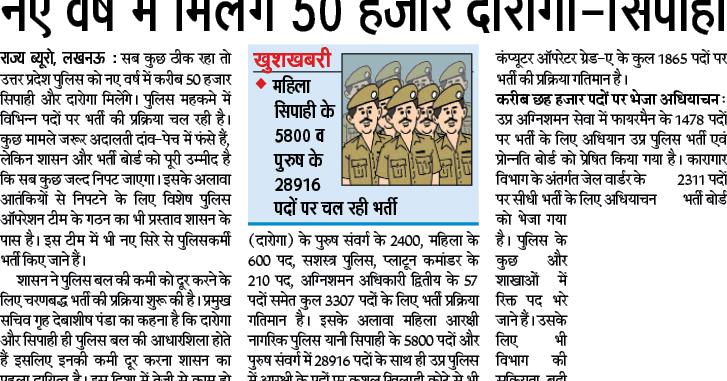up%2Bpolice%2Bbharti%2Bnews Online Govt Jobs Form In Delhi on