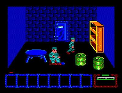 Videojuego Dustin - Amstrad CPC