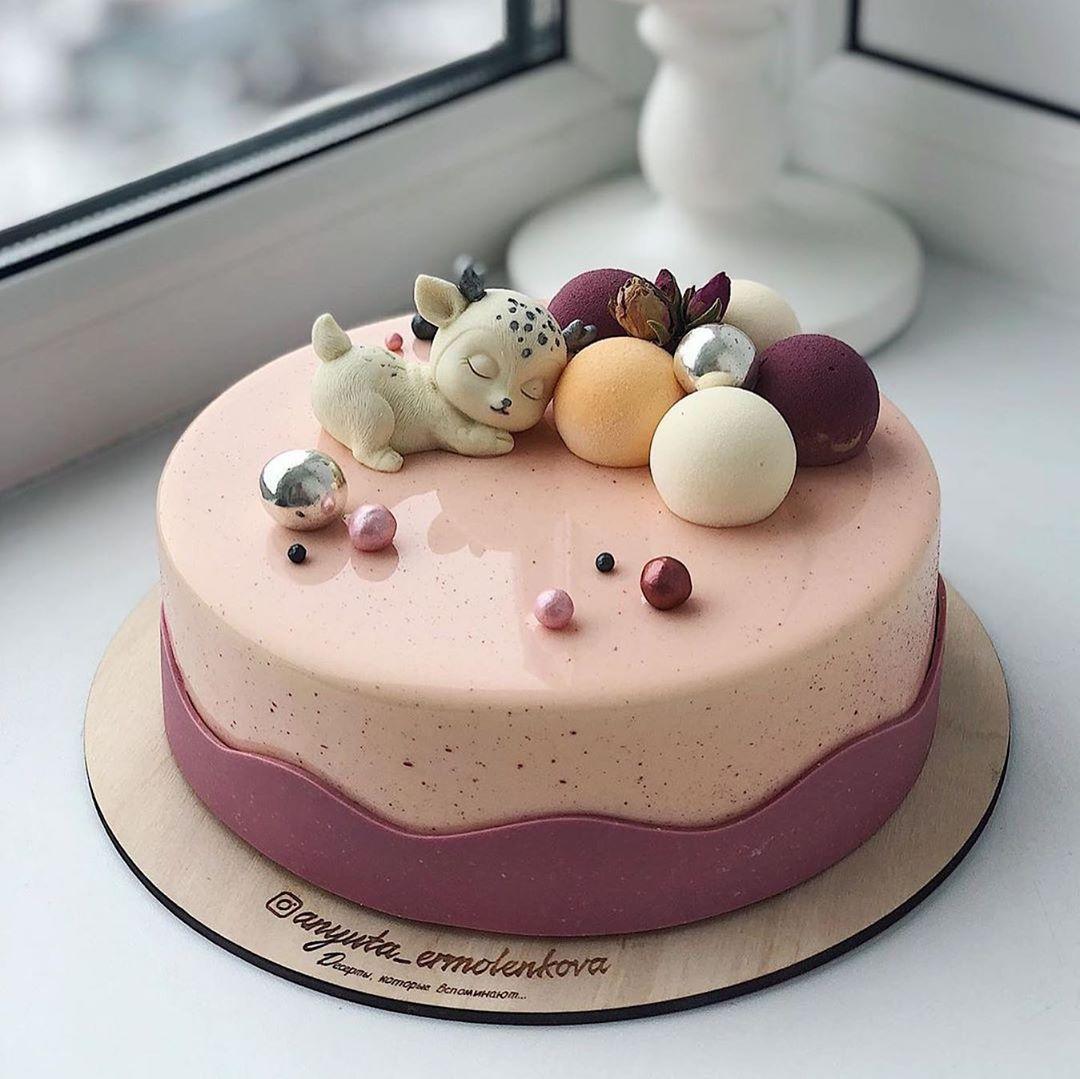 Cute birthday cake for children