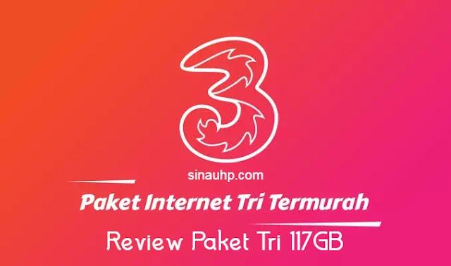 Review Paket 117GB Tri