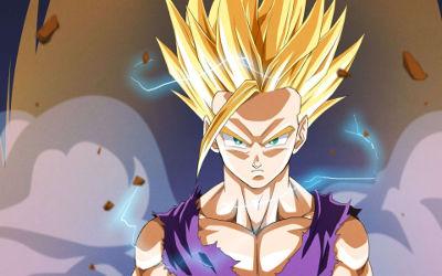 Dragon Ball Z - Gohan est Fou - Fond d'écran en Full HD 1080p