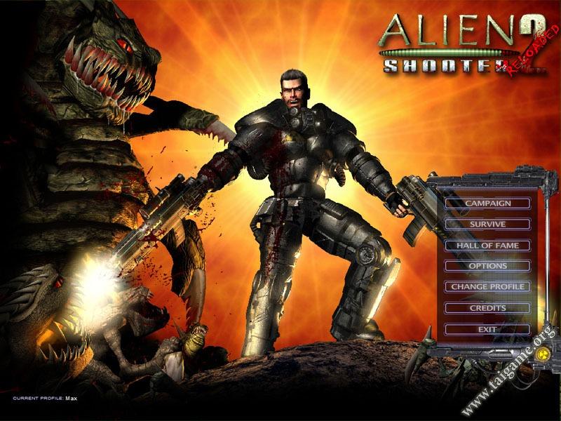 تحميل لعبة alien shooter 2 conscription كاملة