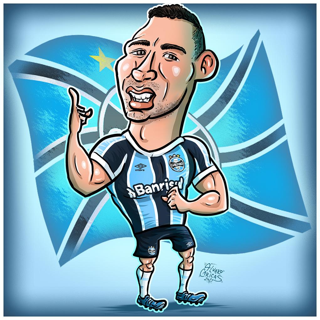 Caricatura Diego Souza