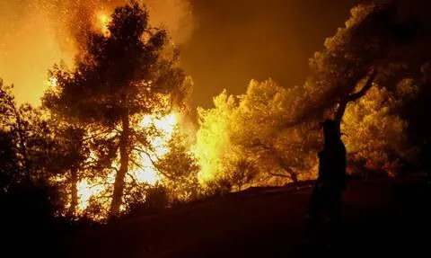 Φωτιά στην Εύβοια: Νέο μήνυμα από το 112 - Εκκενώνονται κι άλλοι οικισμοί