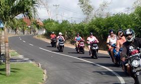 Wisata Tour Dengan Motor di Bali
