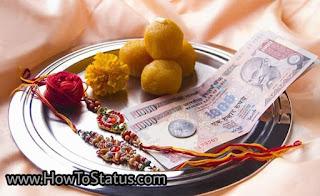 Happy raksha bandhan shayari or status