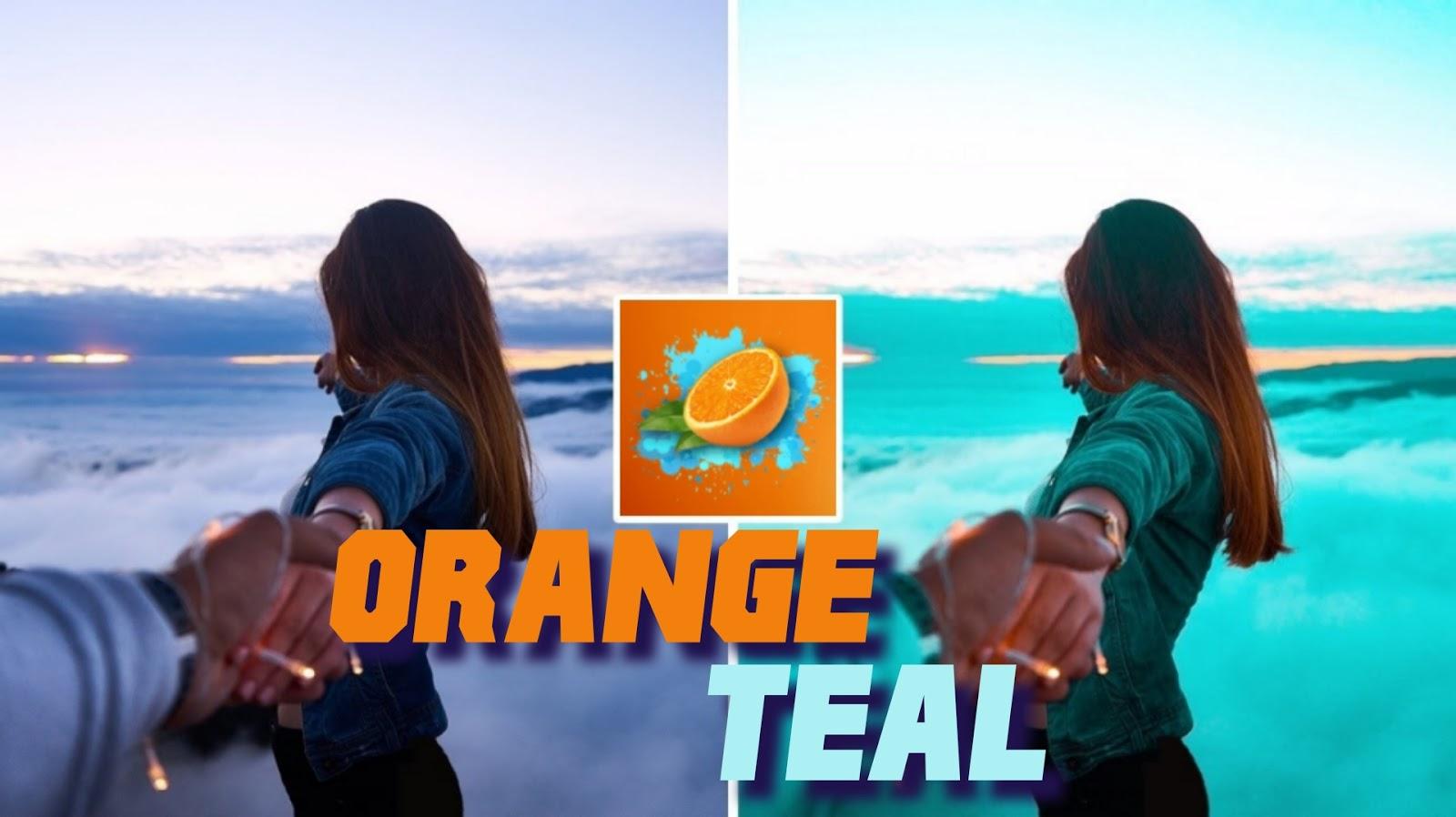 تحميل تطبيق Orange & Teal لعمل تأثير البرتقالي علي الصور
