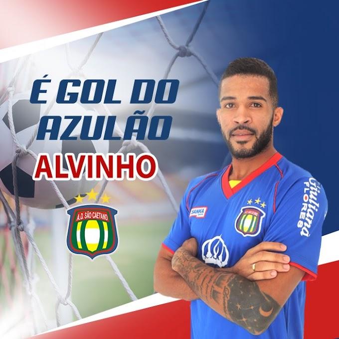 Curraisnovense Alvinho marca gol de nº 2.000 da história do São Caetano