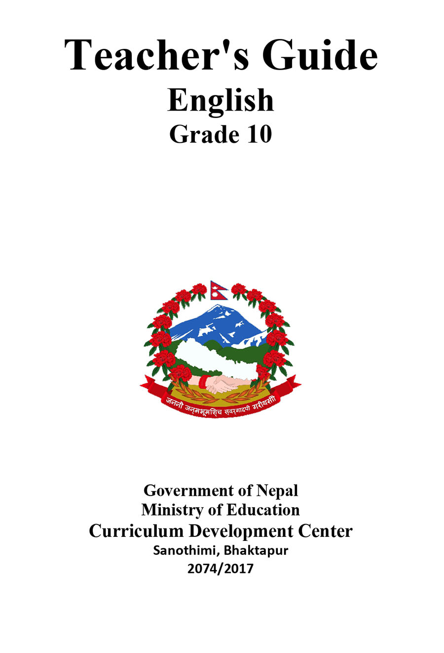 Teachers-Guide-Book-of-English-Subject-Grade-10-SEE-Download-in-PDF