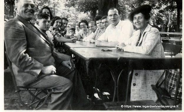 Photo ancienne : Pique-nique