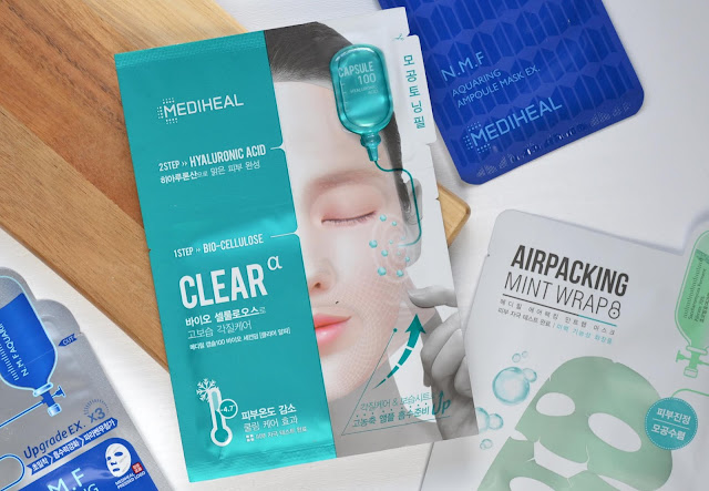 Mediheal Capsule 100 Bio Seconderm Clear Alpha Hyaluronic Acid Mask