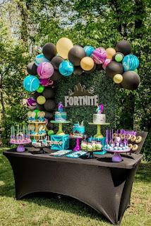 24 ideas para Fiesta de Cumpleaños Fortnite 15