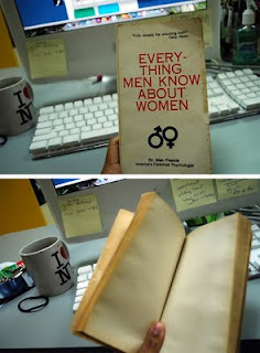 Everything men know about women, humor,funny girl