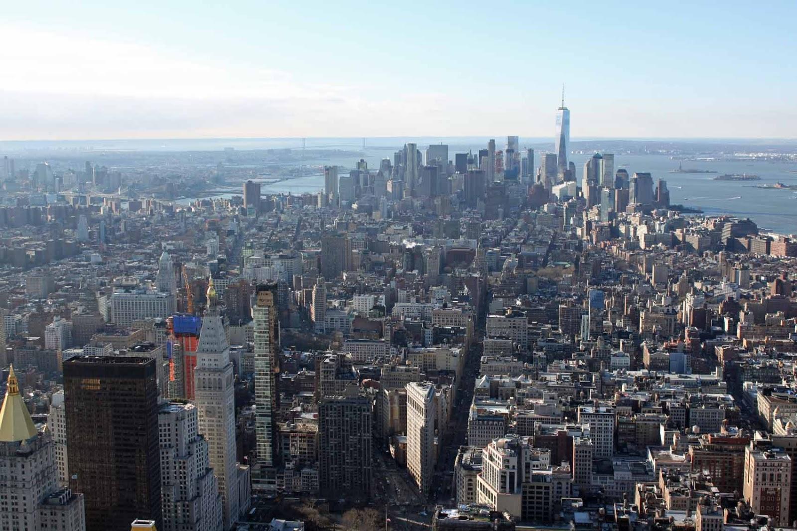 Manhattanin eteläpuoli