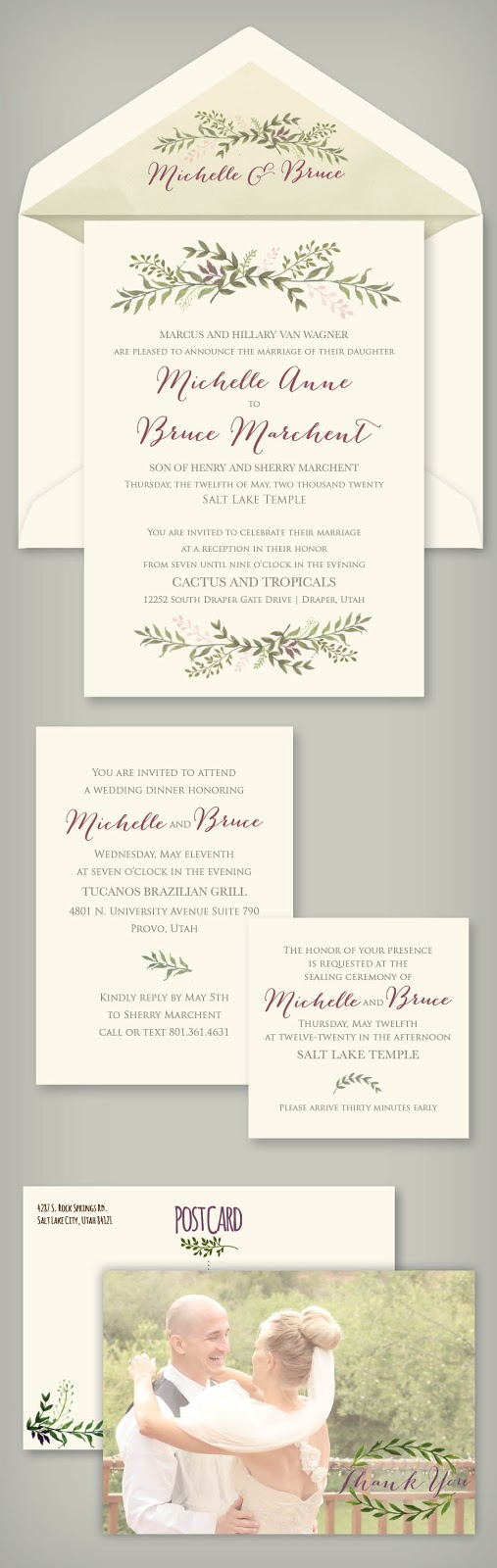 Wedding invitation blog for pricing information on the michelle invitation click here happy wedding planning christy monicamarmolfo Images