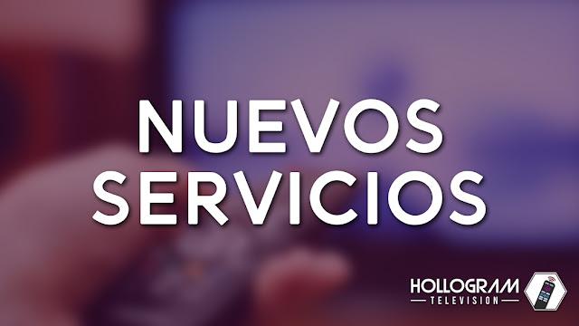 Nuevos servicios: Dominios y hosting web, diseño de logotipos, mantenimiento de canales Roku
