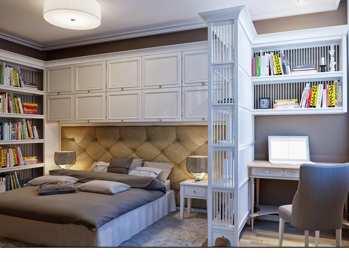 Bedroom with Storage ideas.