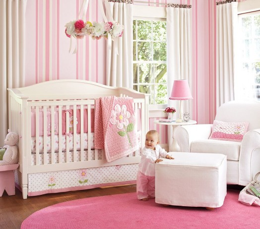 Home by Heidi: {Baby Girl Nursery Ideas!