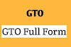 GTO Full Form in SSB Interview and Full form of GTO in Space