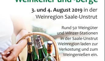 Tage der offenen Weinkeller an Saale und Unstrut 2019