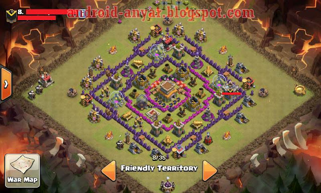 base war TH 8 anti hot anti dragon anti gowipe