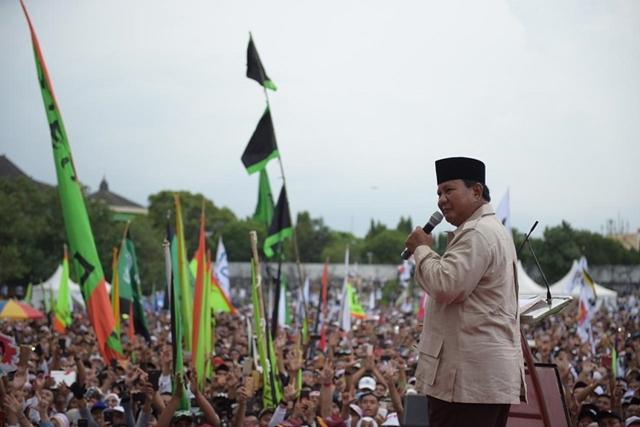 Prabowo: Tata Kelola Negara Ini Jauh dari Keadilan