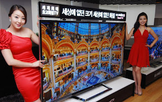 84 inches Ultra Definition 3D TV