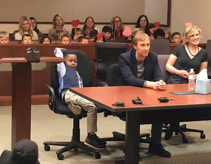 Meet The Boy Who Invited His Entire Kindergarten Class to His Adoption Hearing