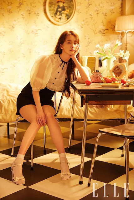 SNSD YoonA ELLE pictures