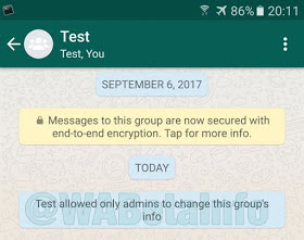 WhatsApp admin powers