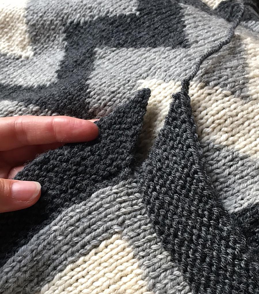 The 2nd Rowan Kaffe Fassett Afghan KAL, knit by Dayana Knits