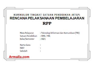 Download RPP KTSP TIK Kelas XII SMA