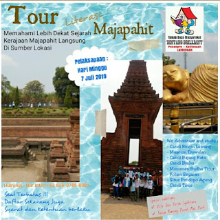 Rencana Program Tour Literasi Majapahit