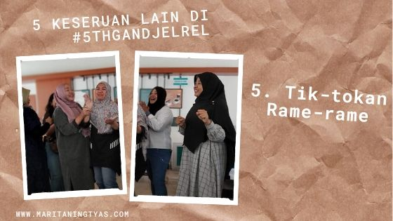 tik-tokan rame-rame di #5thGandjelRel