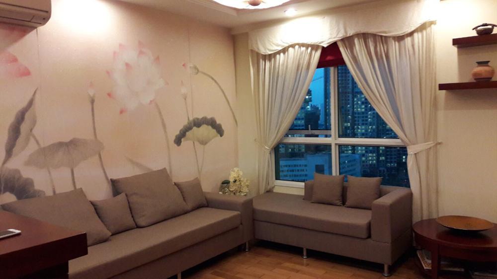 Căn hộ 51m2 cho thuê The Manor 2 tầng 19 - Phòng khách