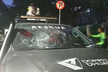 Ambulans Dompet Dhuafa Diserang Polisi, Tiga Petugas Medis Luka