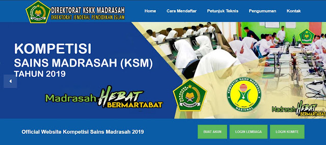 https://ksm.kemenag.go.id/ Alamat Website Resmi KSM